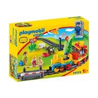 Playmobil - Tren cu statie
