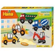 Hama - Set margele de calcat Camion In cutie, 4000 buc Midi