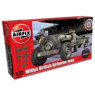 Airfix - Kit automodele 02339 Masina Willys British Airborne Jeep scara 1:72