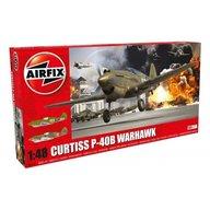 Airfix - Kit constructie Curtiss P-40B Warhawk