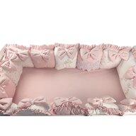 Deseda - Aparatori din 13 pernute LUX by  pt pat 120x 60 cm Roz pudra