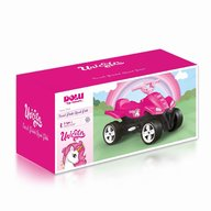 DOLU - ATV cu pedale Unicorn, Roz