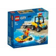 LEGO - Set de constructie ATV si barca de salvamari ® City, pcs  79