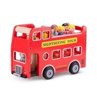 New Classic Toys - Autobuz turistic cu 9 figurine