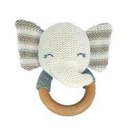 Baby Hug - Jucarie crosetata pentru dentitie - model elefantel