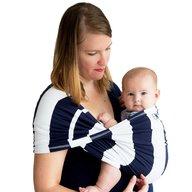 Baby K'tan - Sistem purtare Baby Carrier Print, Navy Stripe, Marimea XS