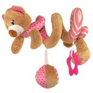Baby Mix - Spirala cu jucarii Pink Bear