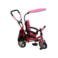 BABY MIX  Tricicleta copii cu Scaun Reversibil Baby Mix Safari WS611 Pink