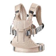 BabyBjorn - Marsupiu ergonomic One Air Pealy 3D Mesh , Protectie cap, Anatomic, 4