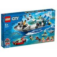 LEGO - Set de constructie Barca de patrula a politiei ® City, pcs  276