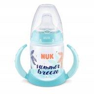 Nuk - NUK - Biberon  First Choice Beach Edition cu toarte 150ml Bleu