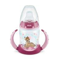 Nuk - Biberon First Choice Cu toarte, 6-18 luni, Tetina de invatare Disney Bambi din Polypropilena (Pp) 150 ml