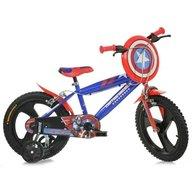 Dino Bikes - Bicicleta copii 14 inch, Captain America