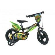 Dino Bikes - Bicicleta cu pedale Dinozaur T-Rex, 12