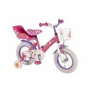 EandL Cycles - Bicicleta cu pedale , Minnie Mouse, 12