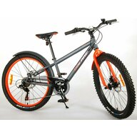 EandL Cycles - Bicicleta cu pedale Rocky, 24
