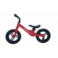 SkillMax - Bicicleta fara pedale 12 inch, 2 kg, inaltime reglabila, roti EVA, cadru magneziu, Rosu