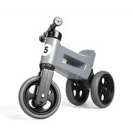 FUNNY WHEELS RIDER - Bicicleta fara pedale Rider Sport 2 in 1, Gri