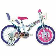 Dino Bikes - Bicicleta cu pedale 614LOL , LOL Surprise, 14