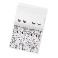 Melissa & Doug - Bloc cu desene de colorat Mutrite Caraghioase