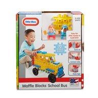 Little Tikes - Blocuri de constructie Autobuz scolar