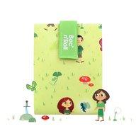 Roll'Eat - Ambalaj reutilizabil pentru sandwich Boc'n'Roll Kids Forest, Verde