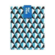 Roll'Eat - Ambalaj reutilizabil pentru sandwich Boc'n'Roll Tiles, Bleu