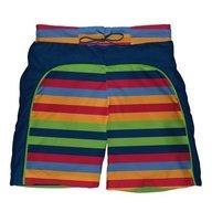 Iplay - Boxeri inot baieti cu scutec si insert integrat Splash, 12 luni, Stripes