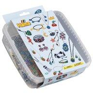 Hama - Set margele de calcat Bratari In cutie de plastic, 10500 buc Mini