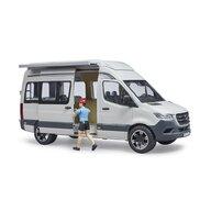 BRUDER - Masina Sprinter Camping Mercedes Benz , Cu sofer