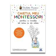 DPH - Caietul meu Montessori pentru a invata sa scriu si sa citesc