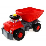 Super Plastic Toys - Camion basculant Carrier, Red