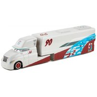 Disney Cars - Camion Ponchy Wipeout Hauler Cu masinuta, Din metal  by Mattel