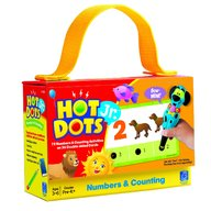 Learning Resources - Carduri Junior Hot dots Numerele