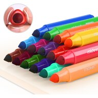 Mideer - Carioci lavabile 36 culori  MD4071