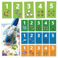 Headu - Set cartonase 123 cu pix magic