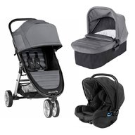 Baby Jogger - Carucior City Mini 2, sistem 3 in 1, Slate