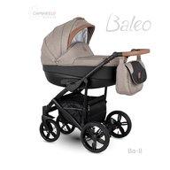 Camarelo - Carucior copii 2 in 1 Baleo 2019 Ba-8, Bej/Negru