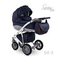Camarelo - Carucior copii 2 in 1 Sirion Eco SiE-3, Albastru inchis