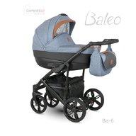 Camarelo - Carucior copii 3 in 1 Baleo 2019 Ba-6, Albastru