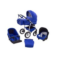 MyKids Carucior copii 3 in 1 Germany Blue Regal