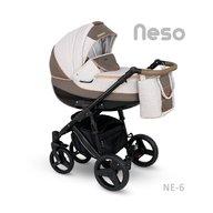 Camarelo - Carucior copii 3 in 1 Neso Ne-6, Bej/Maro