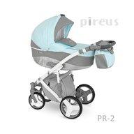 Camarelo - Carucior copii 3 in 1 Pireus Pr-2, Albastru