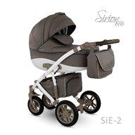Camarelo - Carucior copii 3 in 1 Sirion Eco SiE-2, Maro inchis