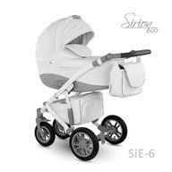Camarelo - Carucior copii 3 in 1 Sirion Eco SiE-6, Gri deschis