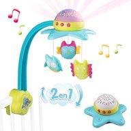 Smoby - Carusel muzical Cotoons Star 2 in 1