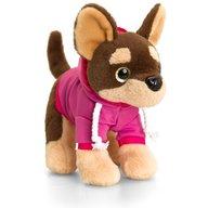 Keel Toys - Catel de plus Chihuahua cu ochi stralucitori 16 cm