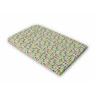 KidsDecor - Cearceaf cu elastic Mozaic din Bumbac, 110x70 cm