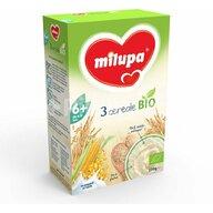 Milupa - Cereale Bio fara lapte, 3 cereale, 250g, 6luni+