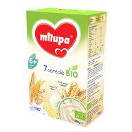 Milupa - Cereale Bio fara lapte, 7 Cereale, 250 g, 6 luni+